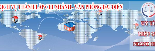 Thành lập văn phòng đại diện nước ngoài