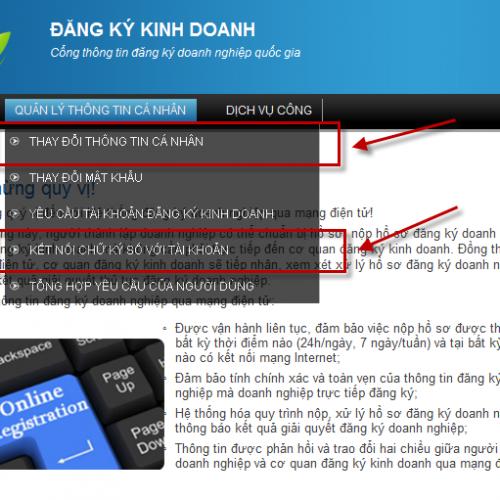 Hướng dẫn kết nối tài khoản dkkd với chữ ký số công cộng