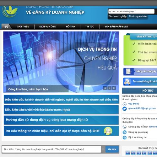 Thủ tục đăng bố cáo thông tin doanh nghiệp