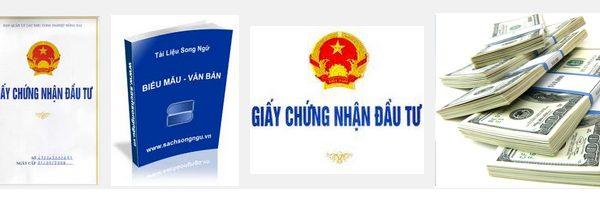 Quy trình và các bước xin cấp giấy chứng nhận đầu tư, thành lập công ty có vốn đầu tư nước ngoài tại Việt Nam