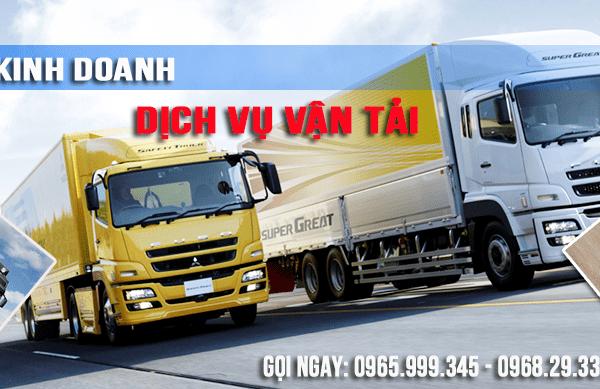 Xin cấp phép kinh doanh dịch vụ vận tải