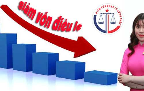 Thủ tục giảm vốn điều lệ công ty