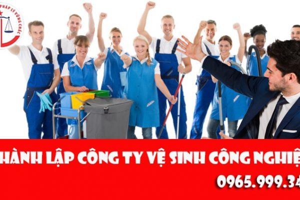 Thành lập công ty vệ sinh công nghiệp