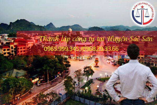 Thành lập công ty tại Huyện Sóc Sơn