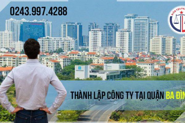 Thành lập công ty tại quận Ba Đình