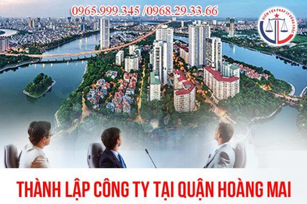 Thành lập công ty tại quận Hoàng Mai
