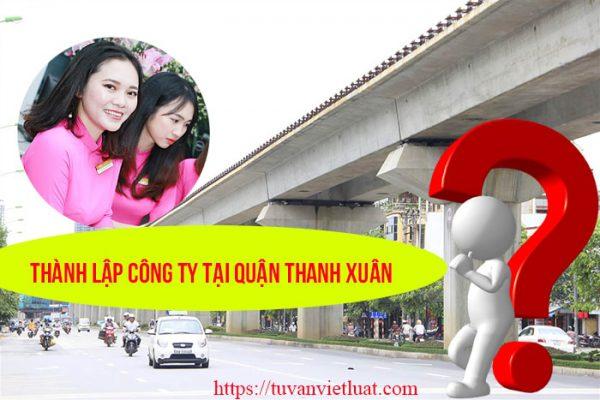 Thành lập công ty tại quận Thanh Xuân