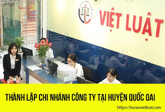 Thành lập chi nhánh công ty tại huyện Quốc Oai