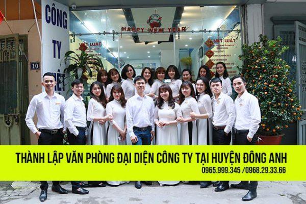 Thành lập văn phòng đại diện công ty tại huyện Đông Anh