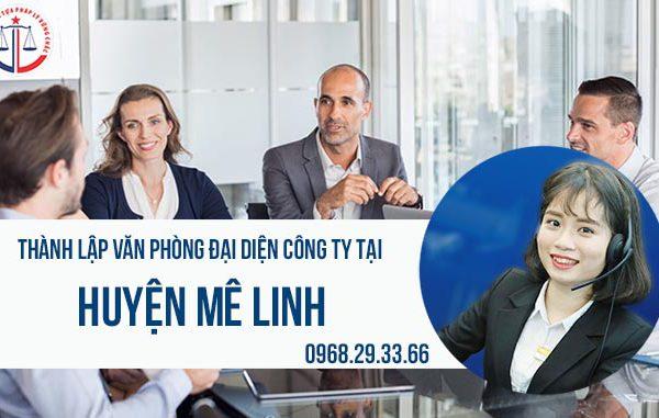Thành lập văn phòng đại diện công ty tại huyện Mê Linh