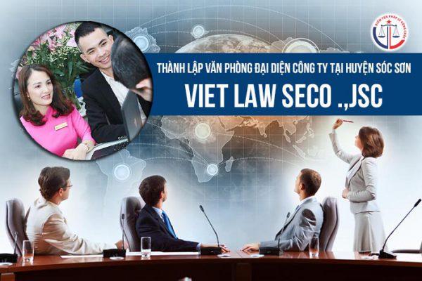 Thành lập văn phòng đại diện công ty tại huyện Sóc Sơn