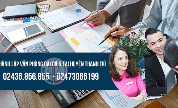 Thành lập văn phòng đại diện công ty tại huyện Thanh Trì