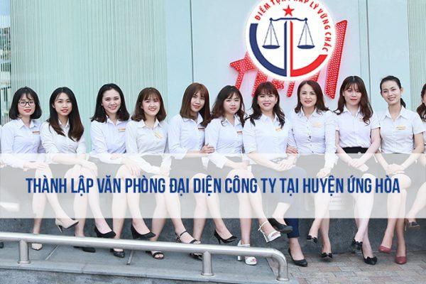 Thành lập văn phòng đại diện công ty tại huyện Ứng Hòa