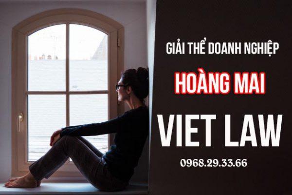Giải thể công ty tại quận Hoàng Mai