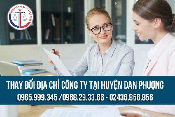 Thay đổi địa chỉ công ty tại Huyện Đan Phượng
