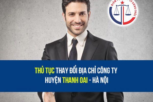Thay đổi địa chỉ công ty Huyện Thanh Oai